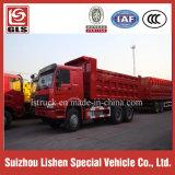 Des China-6*4 Kipper Lastkraftwagen- mit KippvorrichtungEuro2 für Verkaufs-Export nach Afrika