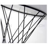 Table basse en verre de meubles de salle de séjour