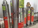 チンパンジー100qjd609-0.75の深い井戸の浸水許容の遠心水ポンプ1 HP