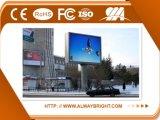 Pantalla de visualización publicitaria a todo color al aire libre de LED de P10 SMD