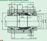 Burgmann mechanische Standarddichtung für Pumpe (HBB803)