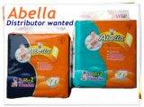 マジックのようなAbellaの高品質の布はVelcrosの柔らかく快適な赤ん坊のおむつを録音する