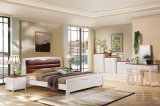 Muebles de madera modernos del dormitorio