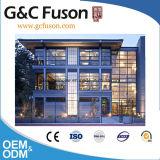 Mur rideau en aluminium en aluminium intense de verre feuilleté de vente chaude bon marché d'usine