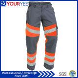 Pantalon de travail de force de sûreté salut avec la bande r3fléchissante (YWP117)