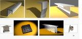 Materiales de construcción de la decoración de la fachada de la hoja del material para techos de la aleación