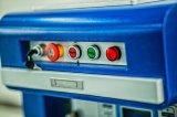 Маркировка лазера волокна настольный компьютер 20W свободно охлаждения на воздухе перевозкы груза портативная