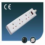 Elektrisches Switch Outlet Five Ways BRITISCHES Socket mit USB