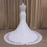 Wulstiges reizvolles Backless Nixe-Hochzeits-Kleid