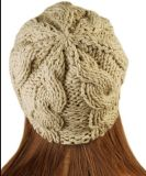 Winter-Formknit-Blendebeanie-Schutzkappe der Frauen