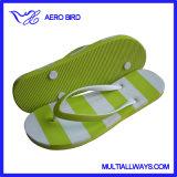 Deslizador de lujo de la sandalia del fracaso de tirón de la playa para la muchacha (13L308)