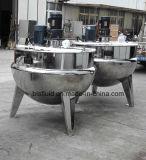 Chaleira elétrica de cozimento elétrica do potenciômetro do aço inoxidável multi