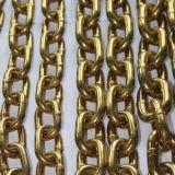 Corrente Finished amarela preta do aço inoxidável da ligação do ferro de Gavlanized