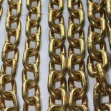 Gavlanized schwarze gelbe fertige Eisen-Link-Edelstahl-Kette