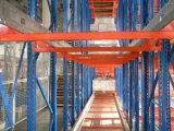 Racking d'acciaio di memoria del pallet di racking della spola della radio della scaffalatura del magazzino