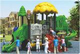 Kompakter im Freienspielplatz mit Dschungel-Dach-Merkmal von der Kaiqi Gruppe