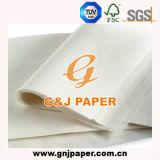 Papier blanc de sandwich à magnésium de qualité grande pour l'emballage d'aliments de préparation rapide