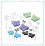 子供のための最新の熱い販売の純粋で自然な蝶Konjacスポンジ