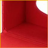 Caja de cuero modificada para requisitos particulares colorida del tejido del hotel
