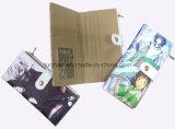 소녀를 위한 PU 가죽 지갑 또는 사랑스럽고 감미로운 카드 지갑을 인쇄하는 좋은 만화