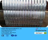 Condutture d'acciaio galvanizzate ondulate