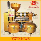 Máquina combinada planta Yzlxq140 da imprensa de óleo do extrator do óleo da pressão fria
