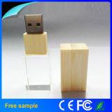 Memoria de destello cristalina del USB del programa piloto 2.0 del USB de la capacidad plena 1GB-64GB