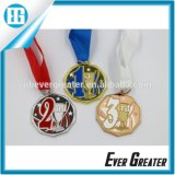 Metal su ordinazione Medal per Souvenir, Cheap Sports Medal con Ribbon, Design Your Own Medal