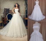 Alibaba A - Zeile Brautkleid-schönes Spitze-Hochzeits-Kleid