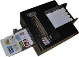 impresora auto de la tarjeta del PVC del chorro de tinta 8card para 85.6*54m m o tarjeta específica del PVC del tamaño
