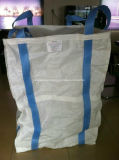 編まれた1トンFIBCバルクPPはファブリックジャンボ袋を薄板にした
