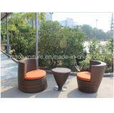 Jogo ao ar livre da cadeira da mesa de centro da mobília do Rattan de China