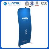 Signe portatif de plancher de tissu de stand de littérature (LT-24X3)