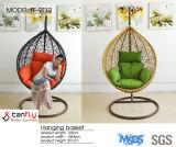 현대 작풍 옥외 편리한 황금 정원은 성인을%s 의자를 진동한다