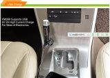 Fala Handsfree da sustentação sem fio portátil do jogo do carro de Bluetooth do transmissor do MP3 FM e cartão do TF (FM28B)