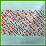 Feature e Adhesive olografici Sticker, Red Pet Tamper Proof Security Void Sticker Usage Security Void Sticker