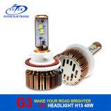 새로운 도착 LED 기관자전차 헤드라이트 3500lm 차 또는 트럭 LED 헤드라이트 40W H13 3600lm 의 G3 황금 차 LED 헤드라이트 H13