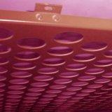 관통되는 알루미늄 건축 위원회/벽면