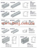 Solar Collector Brackets Roll Forming Making Machineイスラエル共和国のための穴があいたSolar Steel Bracket