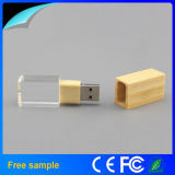 Crystal Bamboo Wood Flash Drive USB 2.0 Memory Stick 2GB-32GB