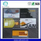 プラスチック透過PVCカード、スマートカードを通って見る部分