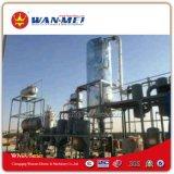 Pianta di riciclaggio dell'olio residuo tramite distillazione sotto vuoto a gasolio ed a benzina