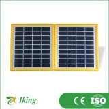 3.4W Poly Solar Panel con Plastic Frame Folding Solar Panel