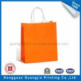Haute Qualité Kraft blanc sac de papier commercial avec le papier Twisted Manipulez