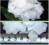 Soda da inspeção 99% Casustic do GV, hidróxido de sódio