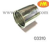 油圧適切な油圧フェルールのホースのフェルールに合う炭素鋼