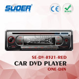 DVD-плеер мультимедиа автомобиля DVD-плеер автомобиля DIN низкой цены Suoer одиночное с CE&RoHS (SE-DV-8521-Red)