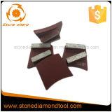 Het dubbele Trapezoïde van de Band van het Metaal van de Diamant van Segmenten Malende voor Beton