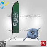 Оптовый рекламируя флаг пера пляжа