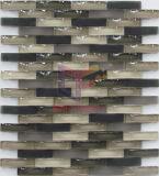 Mosaico de Brown Cristal Oscuro Teja Curva (CFG14)